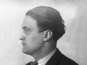 Portrait de Georges Oltramare, 1931.