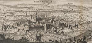 Vue de Bienne au 19e siècle.