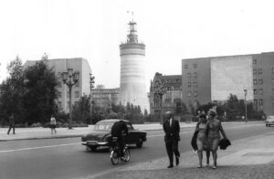 The GDR, here East Berlin in 1966, was quite isolated politically for a long time. It only had contact with other Eastern bloc nations.