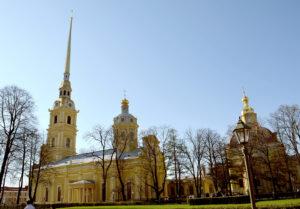 Peter-und-Paul-Kathedrale, errichtet 1712 bis 1733.