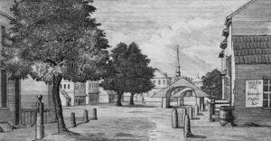 Philadelphia, Pennsylvania um 1787