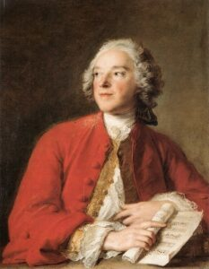 Pierre-Augustin Caron de Beaumarchais à 23 ans. Peinture de Jean-Marc Nattier.