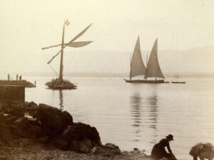 In the 18th century, a pirate plied his trade on Lake Geneva.