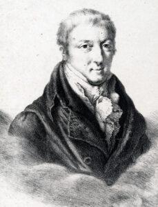 Porträt von Carl Ludwig von Haller, um 1860.