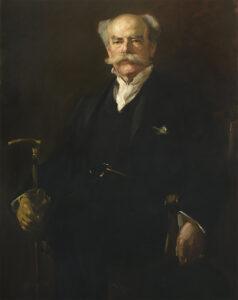 Henry Isaac Barbey, gemalt von Wilhelm Heinrich Funk, 1904.