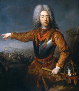 Prinz Eugen von Savoyen, gemalt von Jacob van Schuppen, 1718.