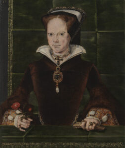 Queen Mary I, by Hans Eworth, 1554.