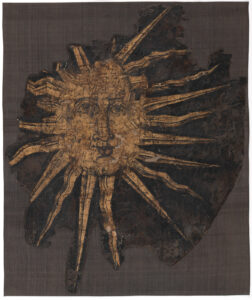 Equestrian flag of the Count von Sonnenberg, booty from the Swabian War.