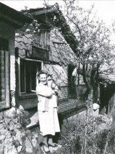 Rosa Osman-Keller in 1979: she lived modestly in Obstalden.