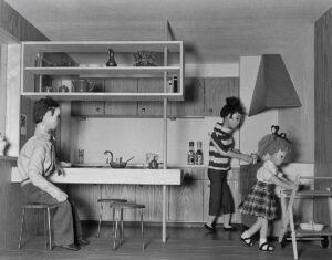 Maquette de cuisine présentée à la SAFFA de 1958.