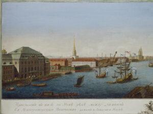 Sankt Petersburg um 1753.