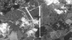 The Soviet airfield in Tartu around 1965.