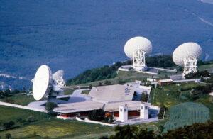 Satelliten-Bodenstation Leuk Brentjong