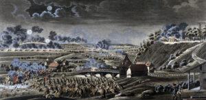 Schlacht bei der Sensebrücke, 1798.