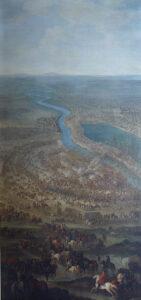 Schlacht bei Zenta errangen kaiserliche Truppen unter dem Oberbefehl von Prinz Eugen von Savoyen bei Zenta an der Theiss. Jacques-Ignace Parrocel, um 1711