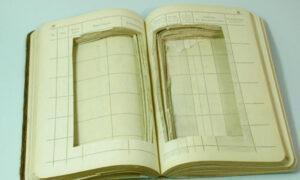 Book repurposed for smuggling.