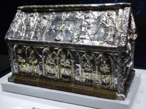 Schrein des hl. Sigismund und seiner Söhne, ca. 1150-1200.