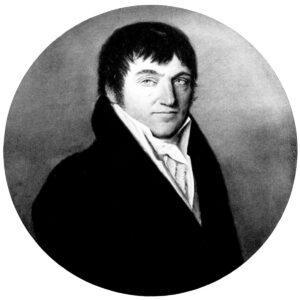 Portrait de Sebastian Fahrländer, «fondateur» du canton de Frickthal.