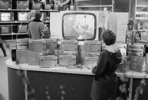 The shopping centre in Spreitenbach, 1970.