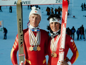 Medals such as those won by Primin Zurbriggen and Maria Walliser in Crans-Montana in 1987 reinforced the feeling of being a nation of skiers.