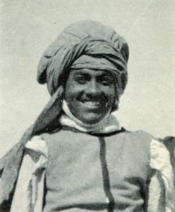 Le mari d'Isabelle Eberhardt, Slimène Ehnni, avant 1907.