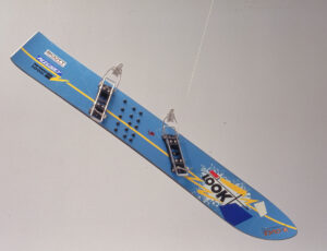 Snowboard LOOK from Germany, made around 1980.