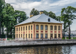 Sommer-Palais Peters des Grossen, errichtet von 1710 bis 1714.