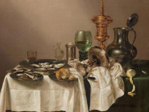 Stilleben von Willem Claeszoon Heda, 1634.