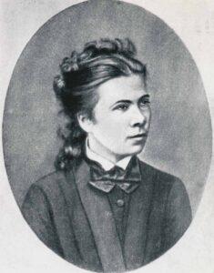 Porträt von Nadeschda Suslowa.