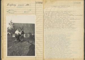 Ausschnitt aus dem Tagebuch des Grenzfüsilierbataillons 269.