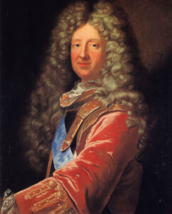Portrait of René de Froulay de Tessé, around 1700.