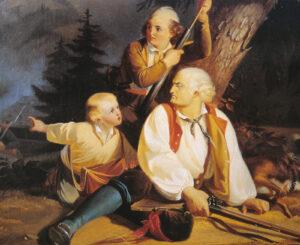 Theodor von Deschwandens Schütz Christen, Verkörperung des Widerstands, 1856