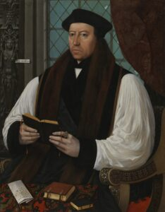 Thomas Cranmer, by Gerlach Flicke, 1545-1546.
