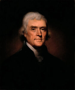 Thomas Jefferson, 1800.