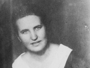 Portrait de Hilde Bonhage à 31 ans, 1938.
