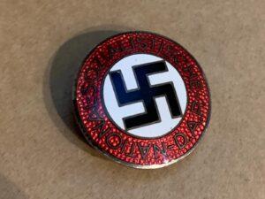 NSDAP membership badge.