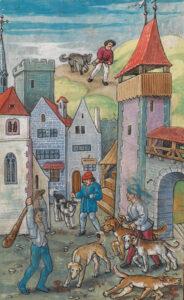 Sur les ordres de Waldmann, tous les chiens dans les fermes sont abattus.