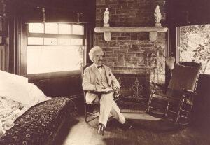 Wiederholt sich die Geschichte? Nein, meint Mark Twain, aber sie reimt sich immer wieder.