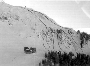 Image of the accident site from March 10, 1988.