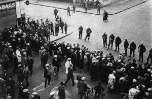 Protest rally against fascism in Geneva, 9November 1932.