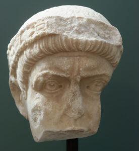 Porträt von Valentinian I.