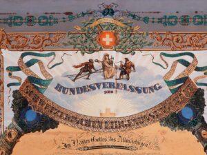 Bundesverfassung von 1848.