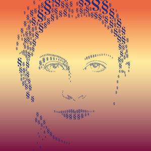 Plakat der Wechselausstellung Frauen.Rechte