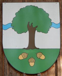 Wappen des Staatswalds Galm (FR).