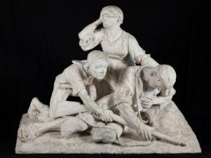 Modell des «Überfalldenkmals» von 1898 in Erinnerung an den Franzoseneinfall in Nidwalden 1798.