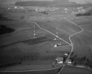 Zürcher Sender auf dem Hönggerberg 1926